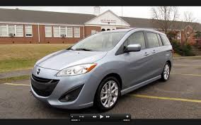 mazda 5 2012 mazda5 grand touring start up exhaust in depth review and