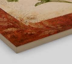 wood print wood print reproduction of original painting parsley