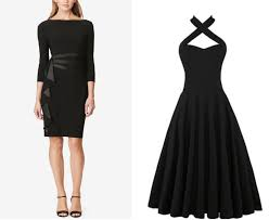 little black dress gathering halter top png