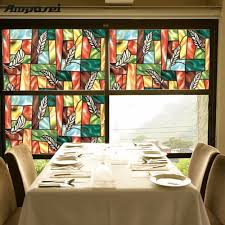 stained glass door windows online get cheap stained glass door film aliexpress com alibaba