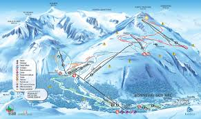 Alps On World Map by Bonneval Sur Arc Piste Map Plan Of Ski Slopes And Lifts Onthesnow