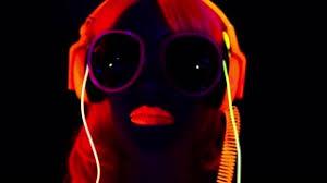 Light Cyber Fantastic Video Of Cyber Raver Dancer Filmed In