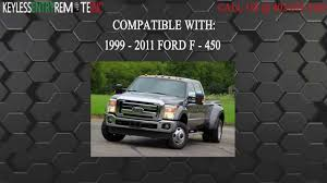 how to replace ford f 450 key fob battery 1999 2011 youtube