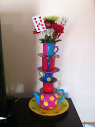 Mad Hatter Tea Party Centerpieces by 33 Best Mad Hatter Alice And Wonderland Party Ideas Images On
