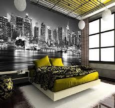 new york skyline manhattan wall mural wallpapers decor photo