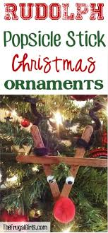 popsicle stick ornaments the frugal