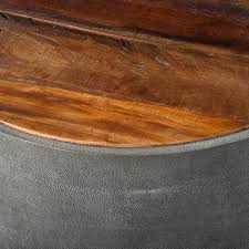 coffee table best rustic round coffee tables with table reclaimed