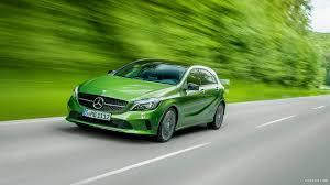 mercedes green 2016 mercedes a class a 220d 4matic elbaite green front