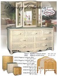 Wicker Rattan Bedroom Furniture by Oceanside Painted Bedroom Suite By Seawinds Trading Wicker