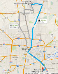 map houston airports bush international airport transportation cns limo executive