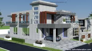 Modern Elevation 3d Front Elevation Com الرياض 500m Corner Modern Villa 3d Front