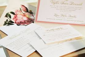 blush and gold wedding invitations la vie en themed wedding invitations in blush and gold the