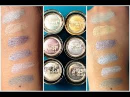 new limited edition maybelline summer 2013 color tattoo swatches