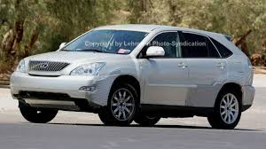 lexus crossover 2007 lexus rx350 test mule spy photos