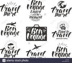 travel symbols images Travel label set journey icons or symbols lettering vector jpg