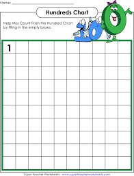 download hundreds chart blank for free tidyform