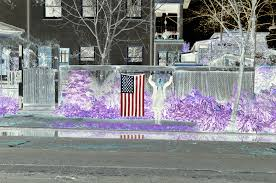 Reverse Color American Flag Reversing The American Flag Optical Illusion Learning How To See