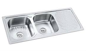 kitchen sinks double bowl interesting single or double kitchen