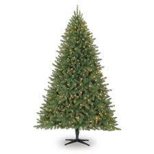 7 5 ft pre lit green full hartford pine artificial christmas tree