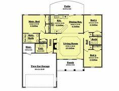 Spacious 3 Bedroom House Plans Spacious 3 Bedroom House Plans House Plans