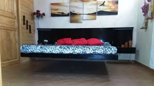 floating bed how it u0027s made my real floating bed letto sospeso e cabina armadio