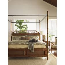 tommy bahama 531 163c island estate west indies queen bed in tommy bahama 531 163c island estate west indies queen bed in plantation medium brown