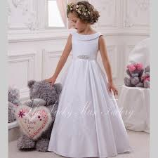 first holy communion dresses for girls white 2017 princess