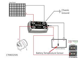 stinger battery isolator wiring diagram stinger wire diagram rv