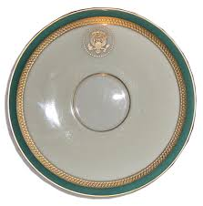 lot detail harry s truman white house exhibit china cup