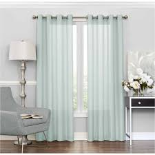 Eclipse Curtain Liner Eclipse Liberty Light Filtering Sheer Curtain Walmart Com