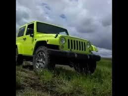 jeep rubicon green 2016 jeep rubicon hyper green road machine