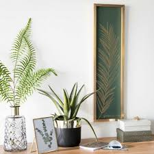 emerald green and gold botanical home decor gold and green fern emerald green and gold botanical home decor gold and green fern printed artwork maisons
