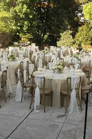 Champagne Chair Sashes This Reception Has A Beautiful Neutral Color Palette With