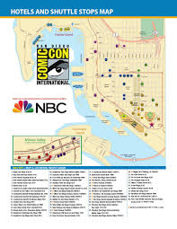 San Diego Airport Map Comic Con International 2014 Maps By Comic Con International Issuu