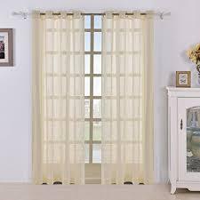 Light Yellow Sheer Curtains Curtains Cream Buyitmarketplace Com