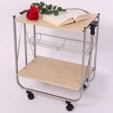chariot de cuisine chariot de cuisine desserte à roulettes pliant 57x34x62cm