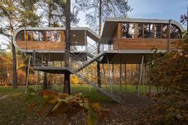 Stilt House Designs Gallery The Treehouse Resort Baumraum Small Baumgefluester