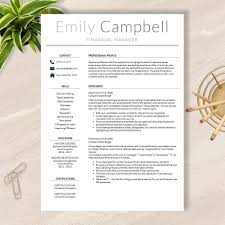 apple pages resume template for word best of modern resume template word and apple pages no 004