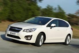 white subaru hatchback new subaru impreza uk price spec and details evo