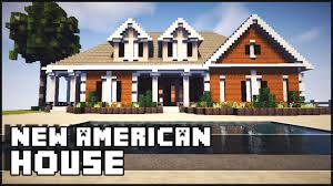 style mansions minecraft american style mansion