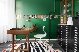le bureau verte vive le vert émeraude