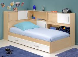 kids twin bed white manufactured wood file storage stainless steel