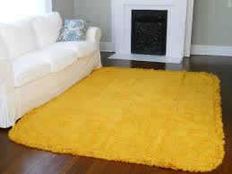 Blue Fuzzy Rug Yellow Decorative Rug Best Rug 2017