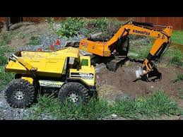 rc adventures gold mine trommel u0026 4200xl excavator