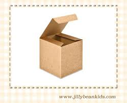 gable box with window kraft brown kraft packaging kraft favors eco friendly box brown