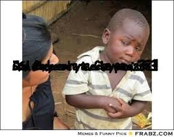elegant little african kid meme skeptical african boy meme kayak