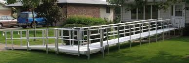 Wheelchair Ramp Handrails All About Mobility Great Falls Mt Ramps All About Mobility