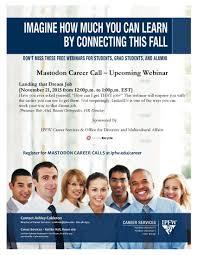 mastodon career calls ipfw