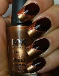 thanksgiving nail polish colors deez nailz 2 autumn mani u0027s