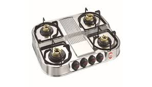 Prestige Cooktop 4 Burner Prestige Royale Dgs 04 Stainless Steel Gas Stoves Price In India